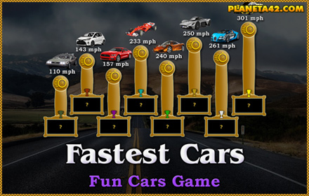 Fastest Cars Game
