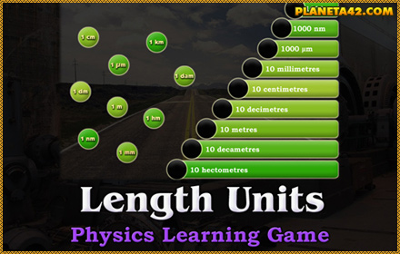 Length Units Game