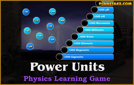 Power Units Game