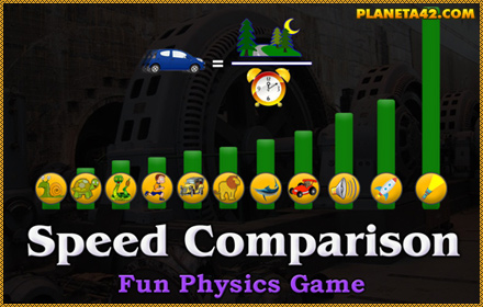 Physics for 6th grade interactive online lessons play speed comparison game sciox Image collections
