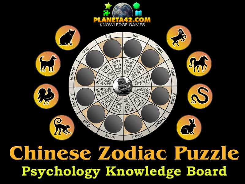 Chinese Zodiac Puzzle Picture