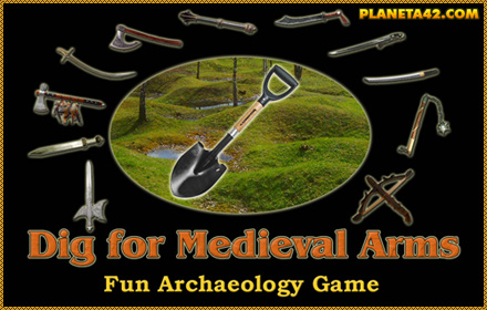 Dig for Medieval Weapons