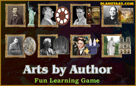 Arts by Author Puzzle