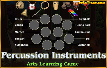 Percussion Instruments Puzzle