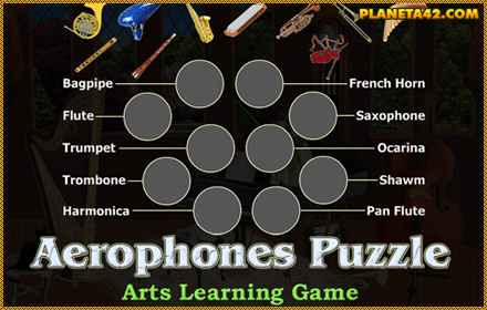 Wind Instruments Puzzle