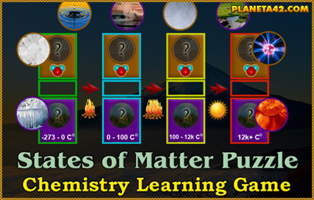 States of Matter Puzzle