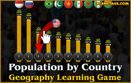 Population by Country Puzzle