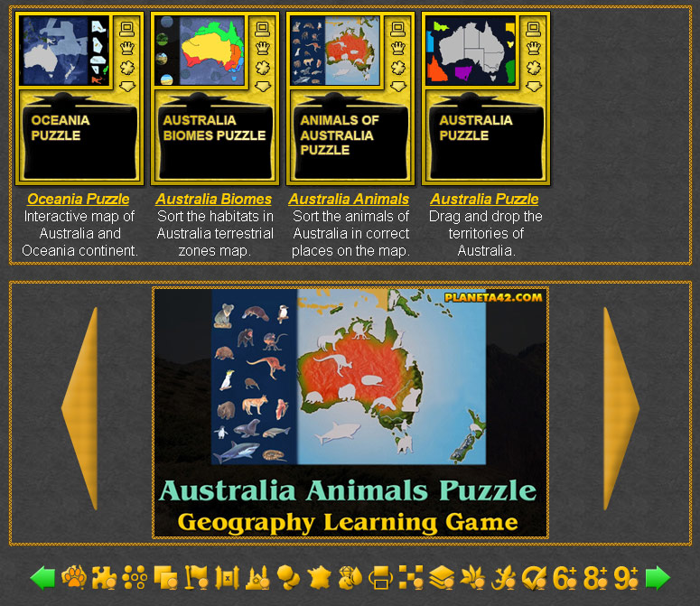 Australia Games | Geography Learning Games