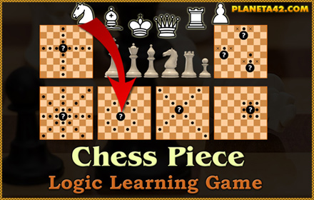 Chess Pieces Puzzle Game