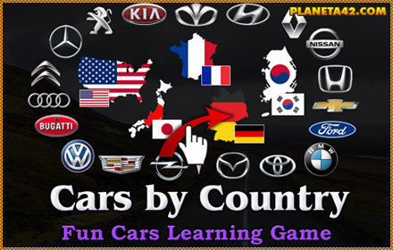 Cars by Country Puzzle