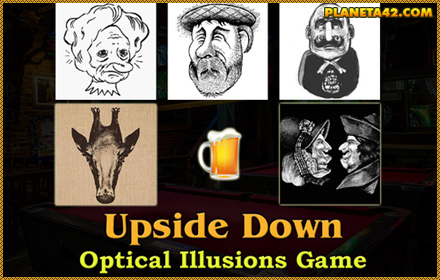 Upside Down Optical Illusion