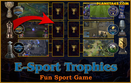 Electronic Sports Trophies Game